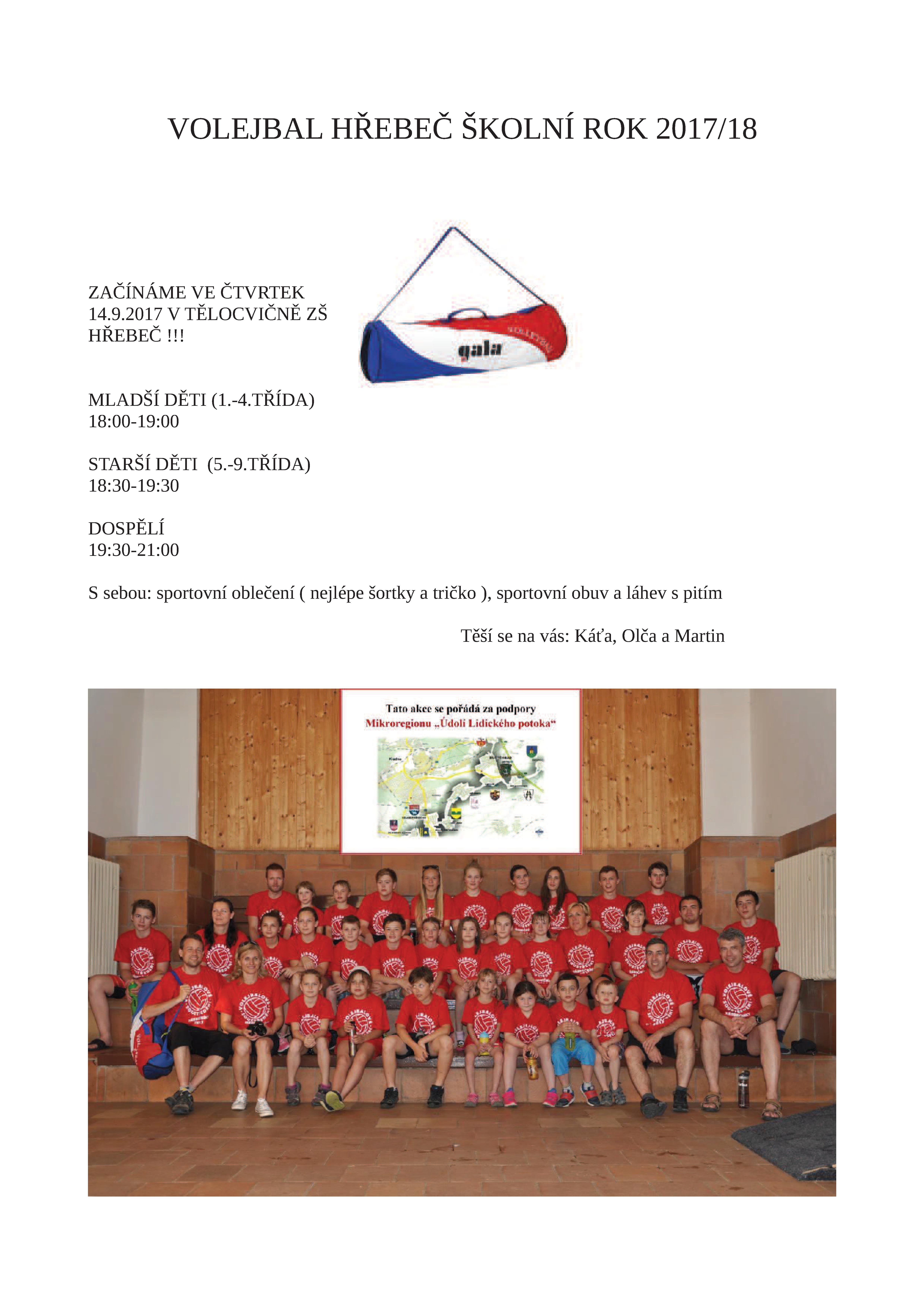 20170907 Volejbal škola