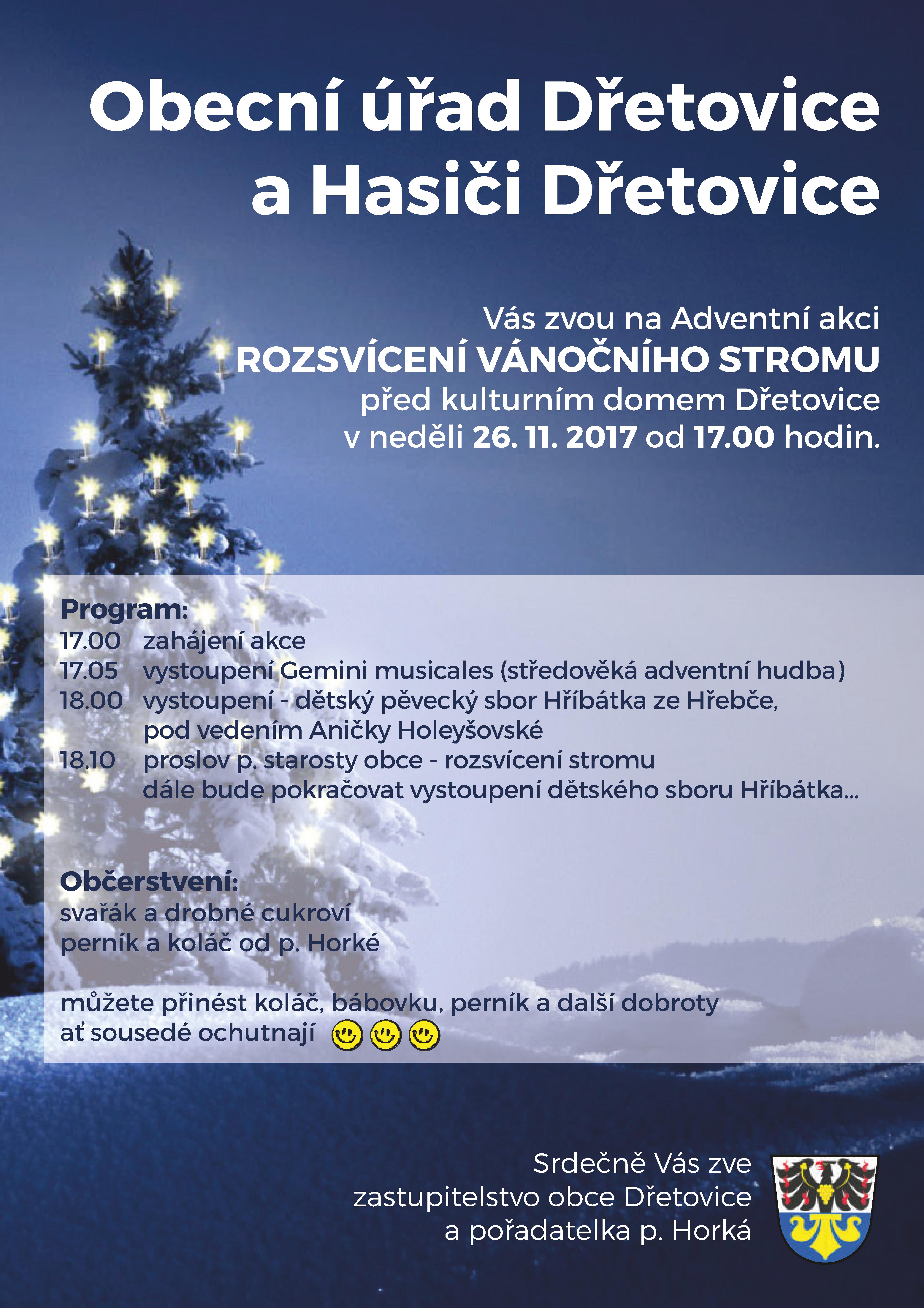 20171113 plakát z Dřetovic
