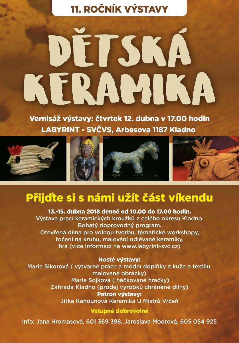 20180412 Výstava dětská keramika leták