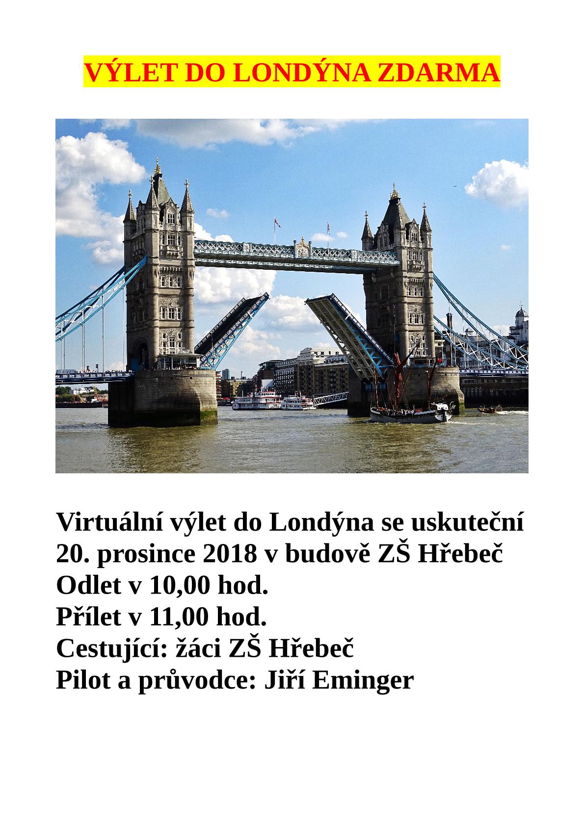 20181029 Londýn pro ZŠ Hřebeč